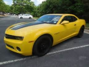 2012 chevrolet camaro 1ls yellow for sale ebay used cars