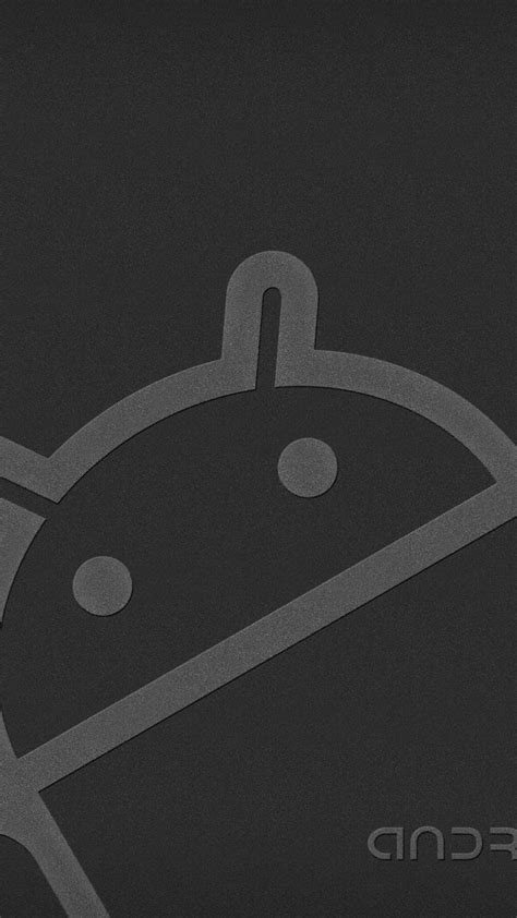 wallpaper grey android android robot gray wallpaper for mobile 720x1280 mobile
