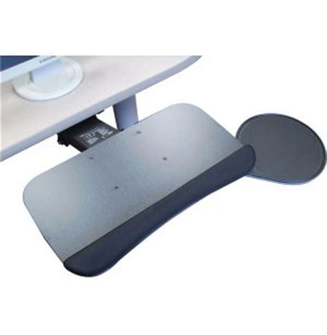 Swivel Keyboard Tray Desk by Ergonomic Keyboard Tray W Swivel Mouse Platform Sys Kbm1