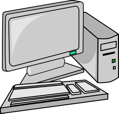 clipart pc computer clipart black and white clipart panda free