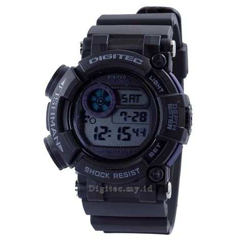 Jam Tangan Digitec Dg 2021t Black digitec dg 2106t black grey jam tangan sport anti air murah