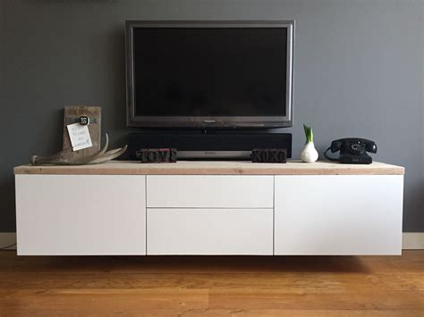 ikea best ikea besta met steigerhout living room pinterest tv