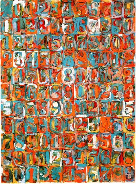 painting number 38 best images about jasper johns on land s