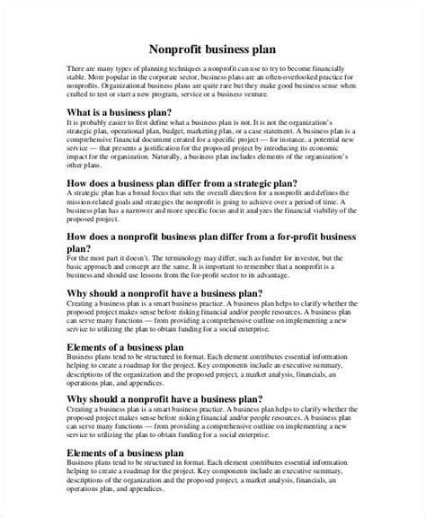 profit business plan   word documents