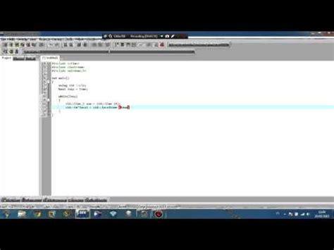cara membuat jam digital dengan visual studio cara membuat aplikasi kasir sederhana dengan borland c