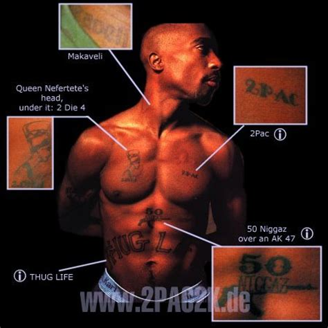 2pac2k de 2pac tattoos
