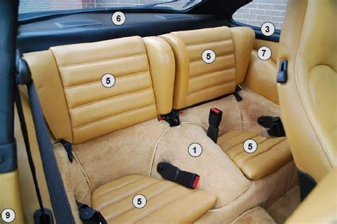 911 Interior Restoration by Buy Porsche 911 912 1965 1989 Complete Interior