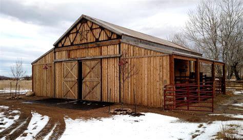 larkspur buildings horse barns sheds pole building kits