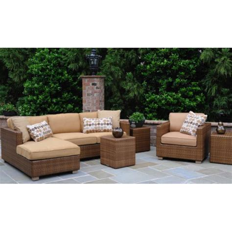 discount outdoor sectionals whitecraft sedona outdoor furniture set and sectional