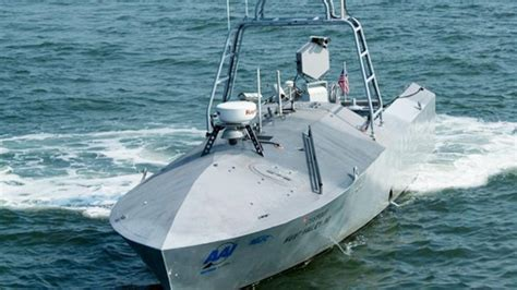 Drone Buat u s navy tests new unmanned missile firing boat ny daily news