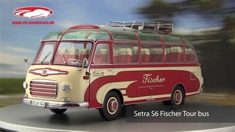 Ficher S6 ck modelcars setra s6 fischer reisebus schuco