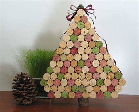 make it pretty wednesdays cork christmas trees sippy