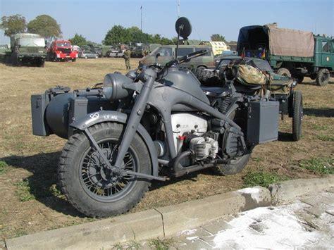 Motorrad Mit Beiwagen Wehrmacht by Motorrad Z 252 Ndapp Ks 750 Mit Beiwagen Und H 228 Nger Der