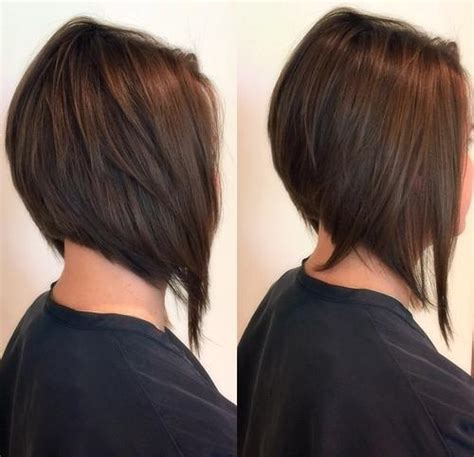 long graduated layers with a side angled or sweeping bang 30 beautiful and classy graduated bob haircuts