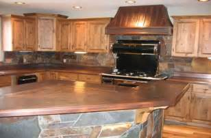 French Country Kitchen Island copper kitchen mountain copper creations