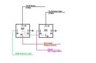 relay wiring diagram negative trigger efcaviation