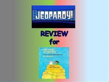 the goat in the rug comprehension test journeys 2nd lesson 23 jeopardy review ppt for quot the goat