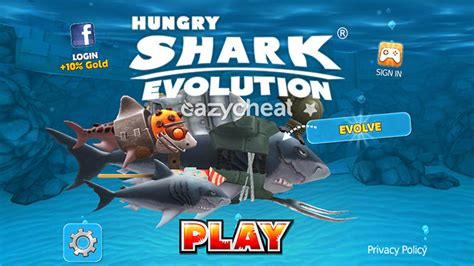 mod game android tanpa pc cara cheat hack hungry shark evolution gems mod apk