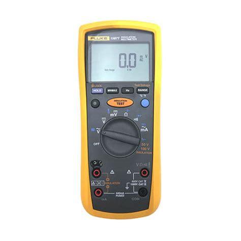 Multitester Fluke 1587 fluke 1587 t true rms megohmmeter insulation resistance tester and multimeter with k type at