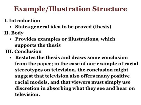 What Is A Illustration Essay by Exle Essay For Week 5