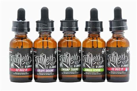 ruthless e juice review from the experts in vapor smoketastic