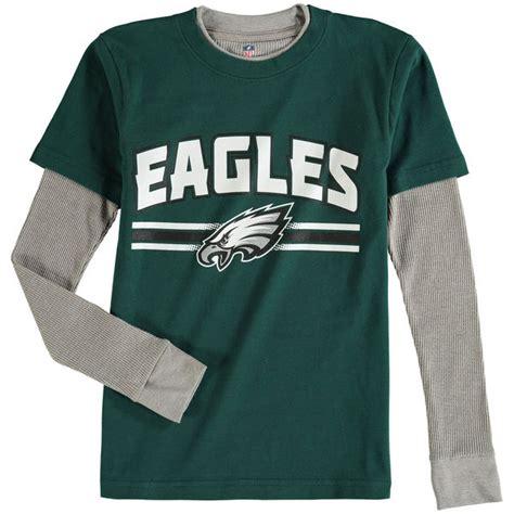 philadelphia eagles fan gear philadelphia eagles youth fan gear bleachers faux layer