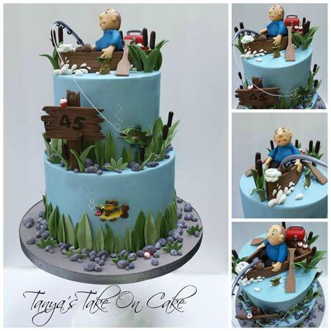 fishing boat cake decorations best 25 gone fishing cake ideas on pinterest fishing