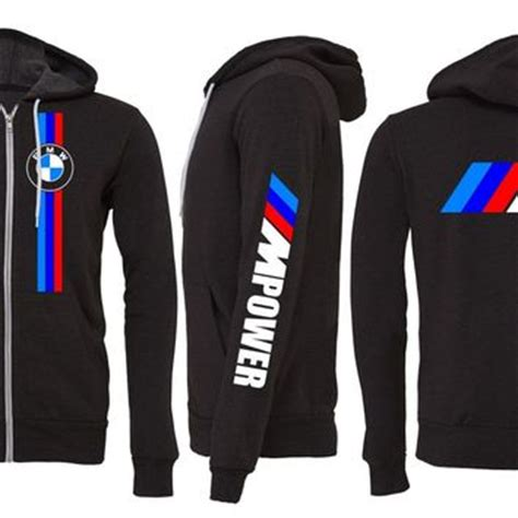 Bmw Hoodie by Bmw Zipper Hoodie Bmw M3 M4 M5 Mpower 335 From Evil Eye Llc