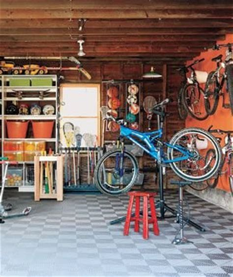 Garage Necessities by Sports Garage After 3 Great Garage Makeovers Real Simple