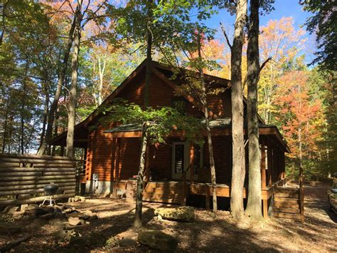 Luxury Secluded Cottages by Secluded Luxury Log Cabin On 40 Acres Near Vrbo