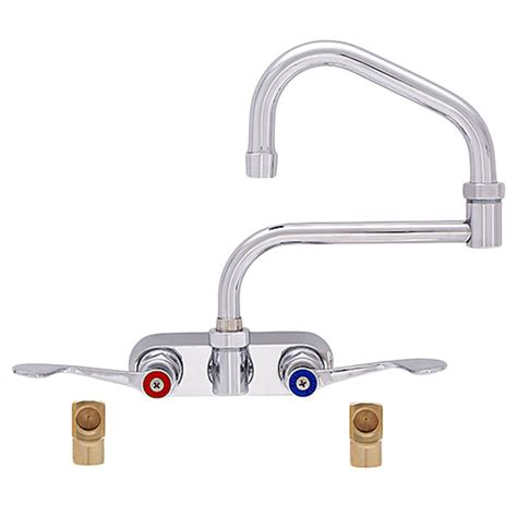 fisher 19720 backsplash mounted faucet with 4 quot centers 19