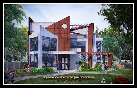 modern dream house design house designs philippines architect bill house plans