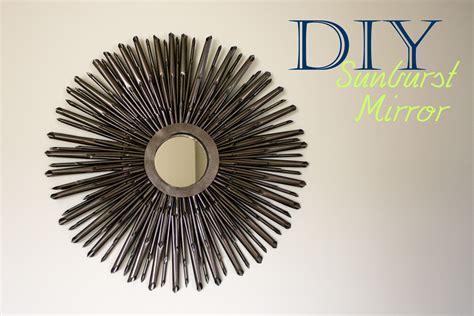 Home Decorating Catalogs diy sunburst mirror tutorial a little abandon