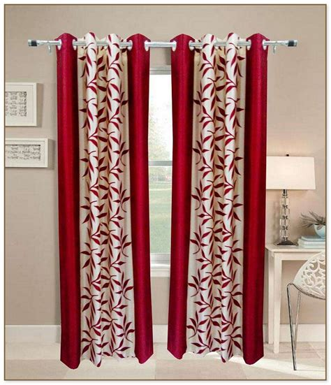 red and tan curtains red and beige curtains