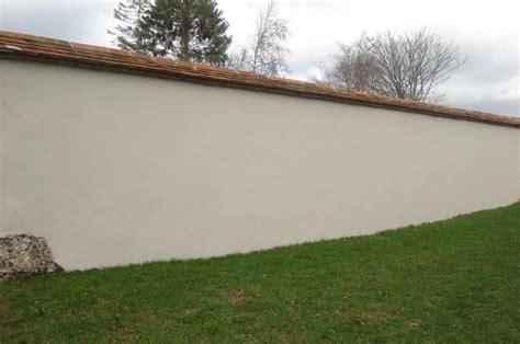 garden wall render bricklaying bricklayer brick work block work flint