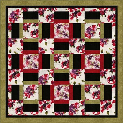 Free Quilt Patterns For Large Scale Prints by Pin By Gerard On Quilts Blankets Fabric