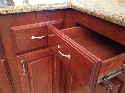 Kitchen Cabinet Blind Corner corner kitchen drawers will not open with hardware installed