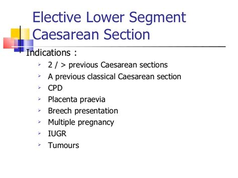lower section caesarean section caesarean section by um