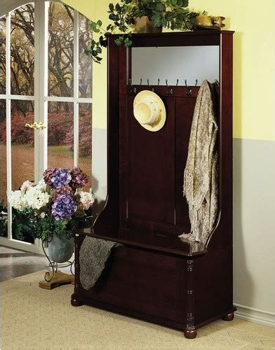 modern hall tree storage bench heirloom wood entryway storage bench modern hall trees