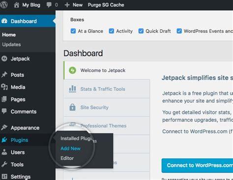 tutorial wordpress site how to install wordpress plugins tutorial