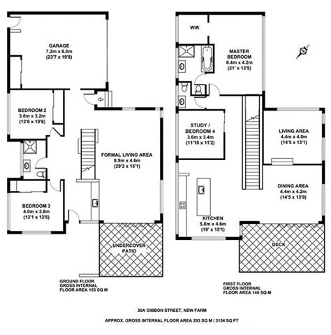 Concrete House Floor Plans | home plans contemporary concrete home plans