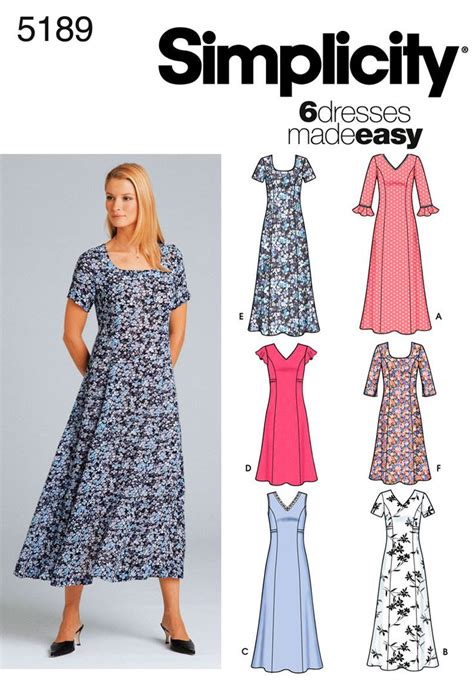 sewing pattern simple dress 281 best sewing patterns images on pinterest new looks