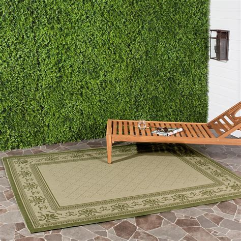 safavieh cy0901 1e06 courtyard indoor outdoor area rug lowe s canada safavieh courtyard olive 9 ft x 12 ft indoor outdoor area rug cy0901 1e01 9 the home