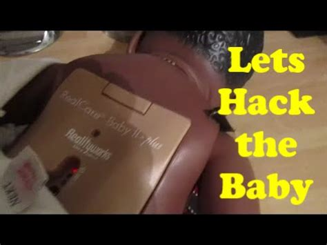 hack the baby lets hack real care baby 2