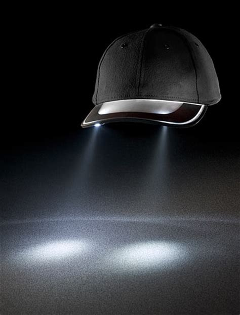 solar cap lights electric solar light cap gadget makes your shine walyou