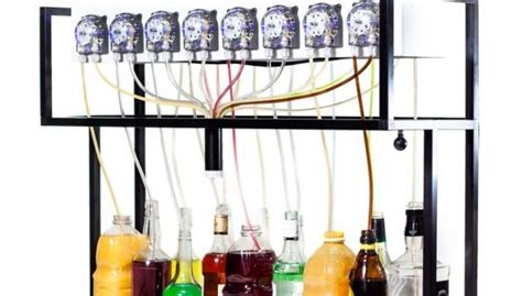 Dispenser Kick On bartendro le barman automatique qui reproduit vos