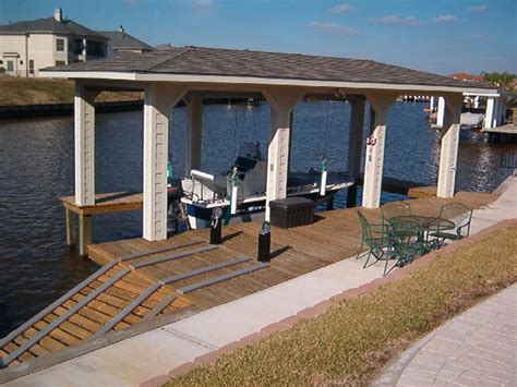 boat house construction boat house boatlift builder waterside bulkhead services