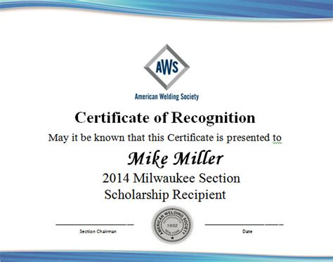 free templates for scholarship awards 9 scholarship certificate templates free word pdf