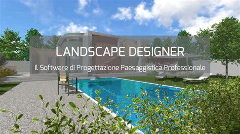 software progettazione giardini landscape designer software per la progettazione