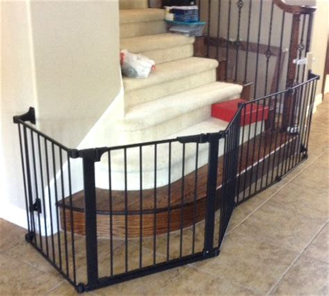 Baby Gate For Banister Custom Extra Wide Large Child Baby Safety Gate